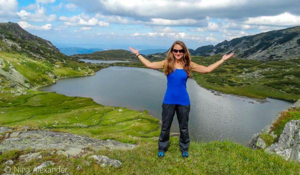 Нина Алексадрова на 7те Рилски езера