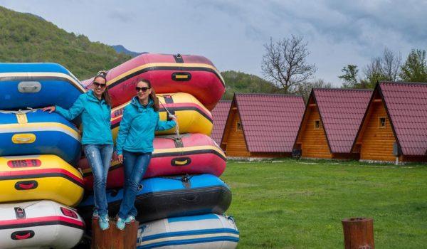 Рафтинг център Дрина-Тара: къмпинг бижу в Босна и Херцеговина